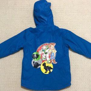 Kids Toy Story Fleece Lined Hooded Jacket Mint 6/7